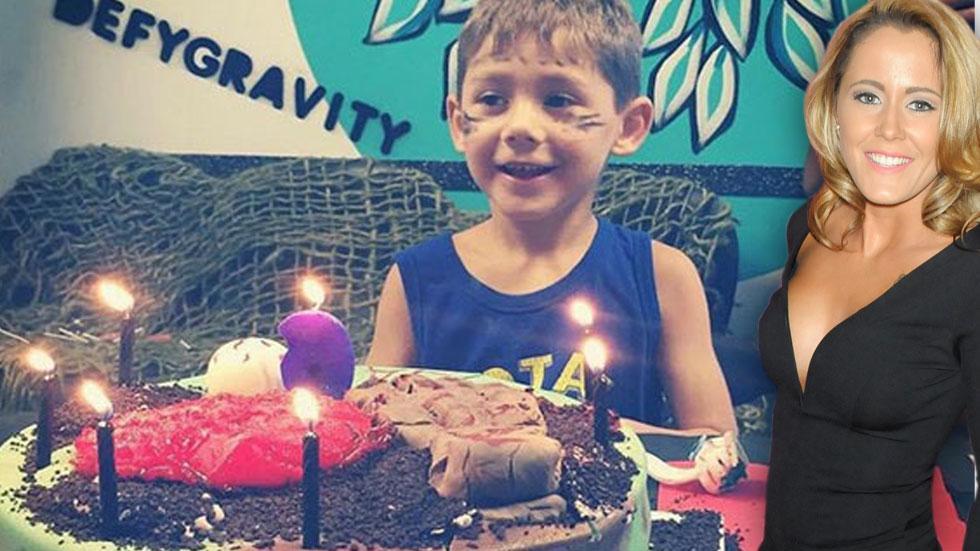 Jenelle evans jace birthday custody battle