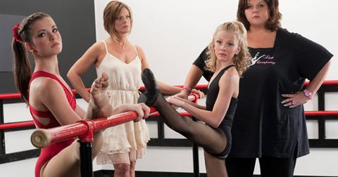 The cast of Dance Moms photographed on May 29, 2012.  Photo by Scott Gries