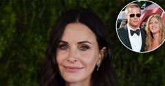 Courteney Cox 'Likes' Photo That Hints At Jennifer Aniston & Brad Pitt Reunion