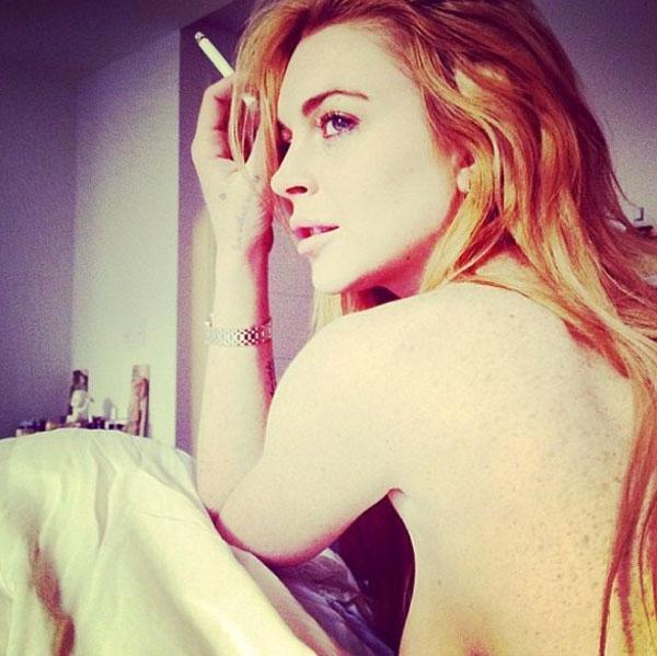 Lindsay lohan naked instagram