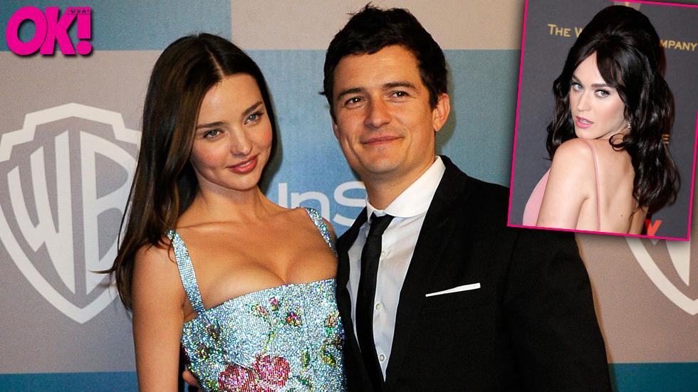 Orlando Bloom warned ex-wife Miranda Kerr about nude