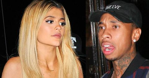Kylie jenner cheated tyga rapper stitches 01