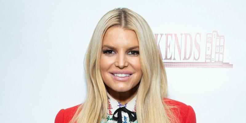 Jessica Simpson's plump lips
