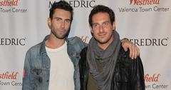 Adam Levine Attends the Grand Opening Of M. Fredric At Westfield Valencia Town Center