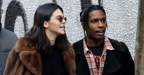 Kendall Jenner and new boyfriend Asap Rocky make some shopping at the Puces (flea market)