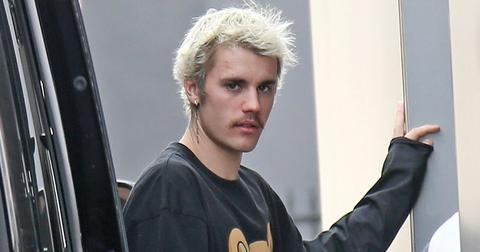 Justin Bieber Getting Out Of A Car