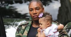 Serena williams teaching daughter olympia french