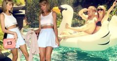 Taylor swift calvin harris pool