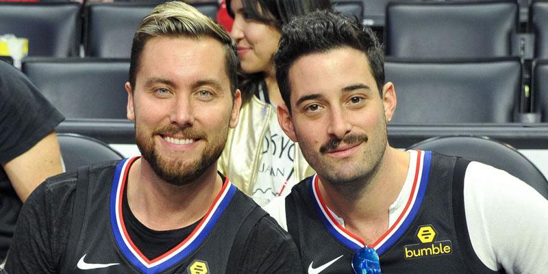 Lance and Michael LA Games PP