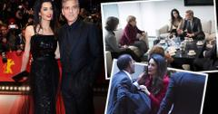 george clooney amal clooney from premieres to politics