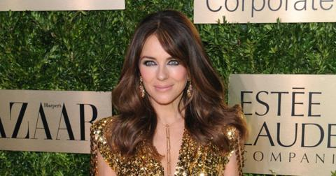 gossip girl elizabeth hurley nearly nude photo instagram