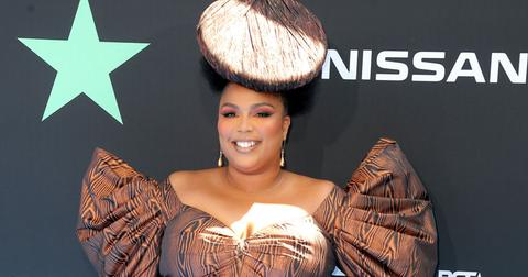 Lizzo On Red Carpet Butt Pic