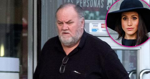 Thomas Markle Heart Attack Pulls Out Of Royal Wedding Photo Scandal PP