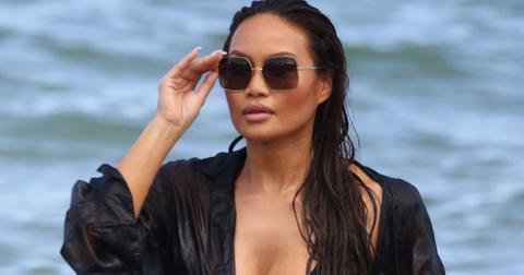 Daphne Joy Bikini Beach Miami Photos