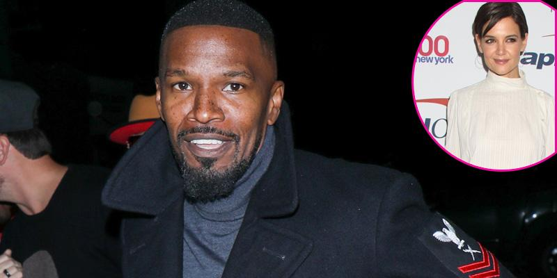 Jamie foxx katie holmes home together