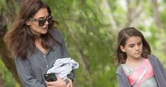 *EXCLUSIVE* Suri Cruise leaves dance class with Katie Holmes as her father Tom Cruise plans to move out of the country