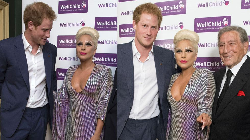 Prince harry checking out lady gaga 01