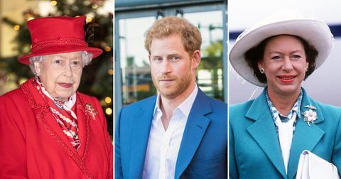 queen harry margaret