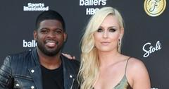 Lindsey Vonn And P.K. Subban On Red Carpet