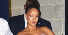 Rihanna stuns mini dress