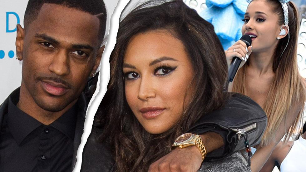 big sean naya rivera split