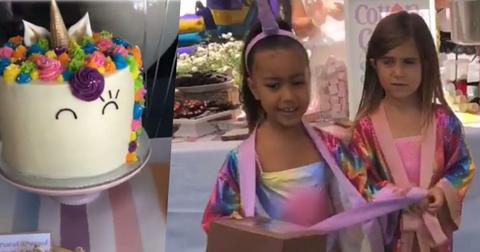 north west penelope disick unicorn themed birthday party pics pp