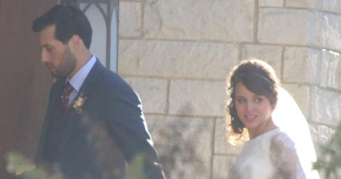 Jinger Duggar Marries Soccer Player Jeremy Vuolo at Cathedral of the Ozarks.