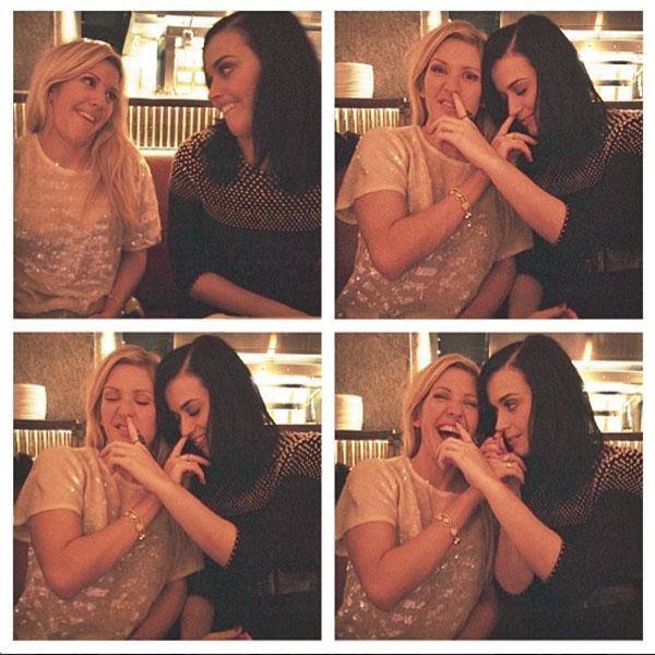Katy Perry Ellie Goulding