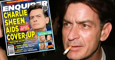 Charlie sheen hiv postivie