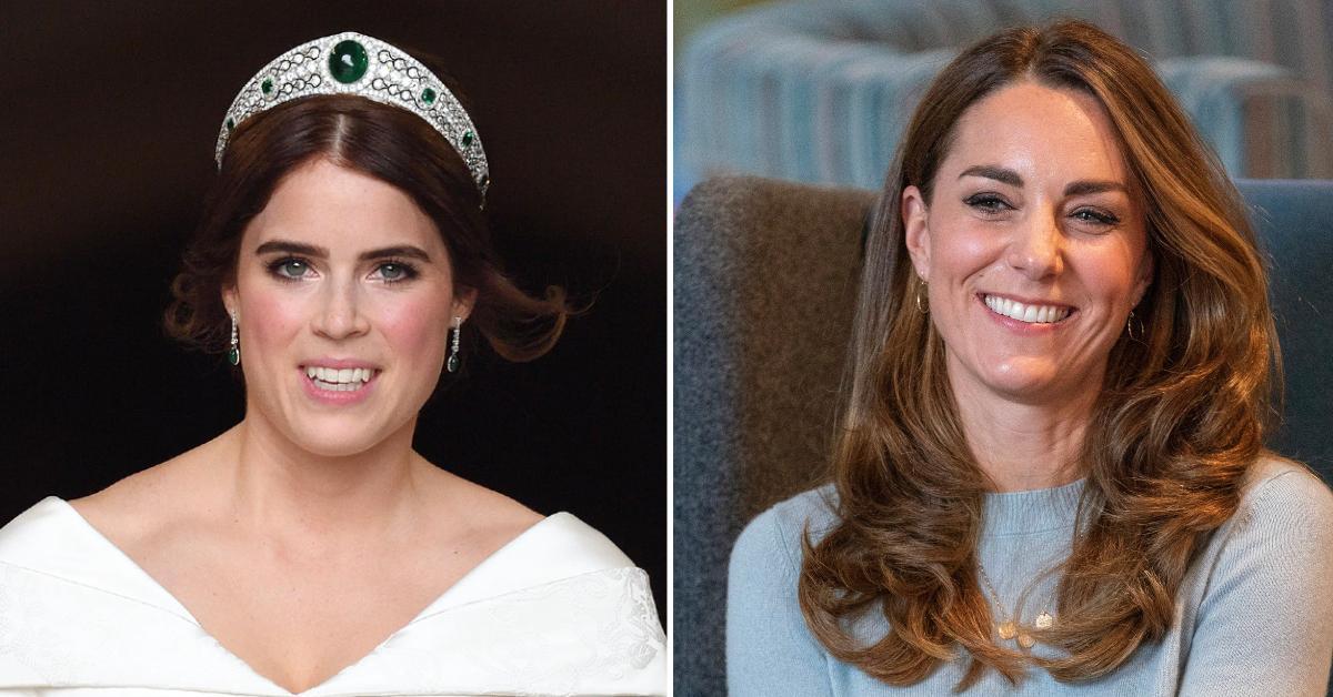 princes eugenie kate middleton pp