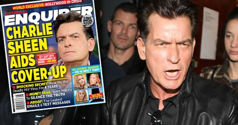 Charlie sheen scandals hiv diagnosis