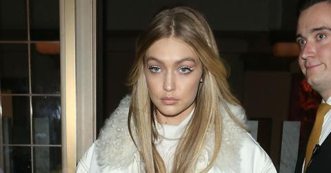 Gigi Hadid Wears All White In London Fashion Week Photos hero