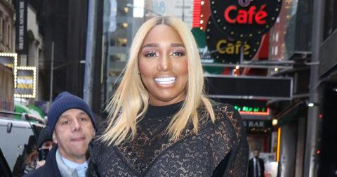 NeNe Leakes In See-Through Lace Jumpsuit