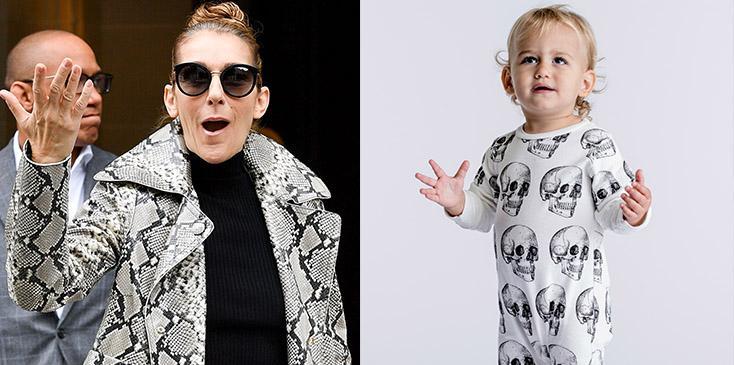 Celine dion gender neutral clothing line pics