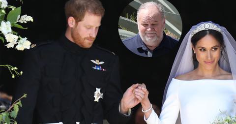 Meghan markle prince harry wedding interview thomas markle