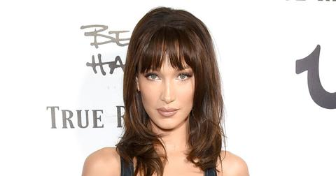 Bella Hadid Bangs PP