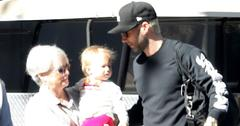 adam levine daughter dusty rose new baby sister pics pp