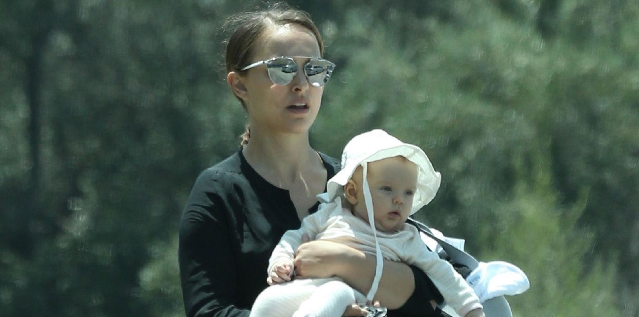 Natalie Portman Daughter Amalia Photos Long