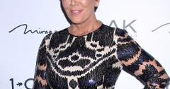 Kris Jenner celebrates birthday at 1 OAK Nightclub at the Mirage Hotel & Casino **NO DAILY MAIL SALES**