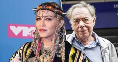 Madonna To Direct Her Biopic, Slams Composer Andrew Lloyd Webber