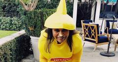 Mindy kaling first photo daughter halloween pic