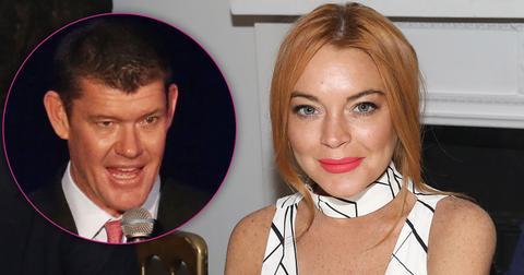Lindsay lohan trying date james packer