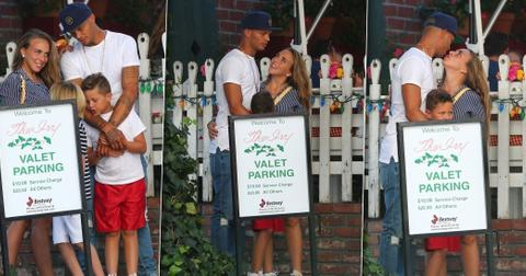 Chloe Green Jeremy Meeks Pack On PDA With Son