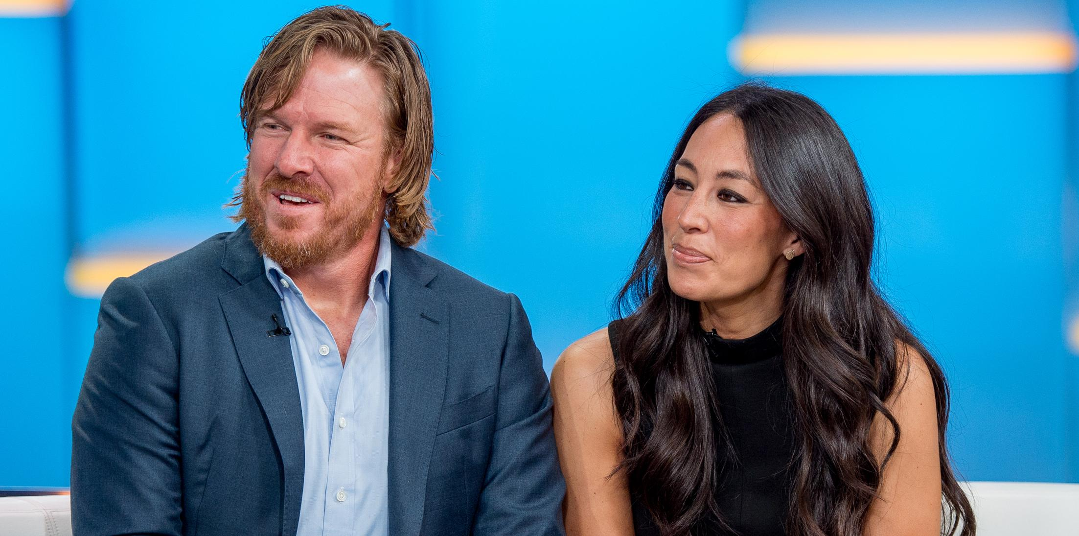 """Chip And Joanna Gaines Visit """"Fox & Friends"""""""