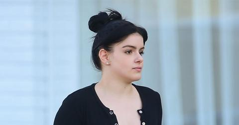 Ariel Winter Rocks Unbuttoned Top In LA