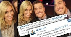 Chris soules whitney bischoff first selfie