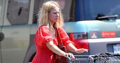 Kristen bell goes grocery store red victorian dress main