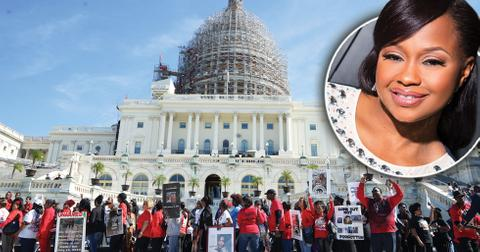 Phaedra parks takes sons million man march