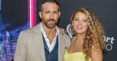 Ryan Reynolds Blake Lively Red Carpet Welcome Third Child