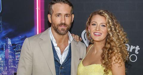 Ryan Reynolds Blake Lively Red Carpet Welcome Third Child